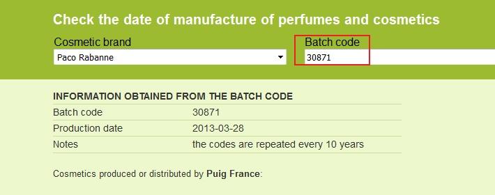 Проверка подлинности духов по штрих коду