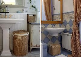 Корзины в ванную комнату