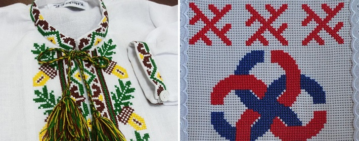 Украинская вышивка значение символов