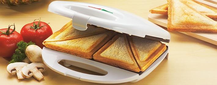 Что можно приготовить в бутерброднице