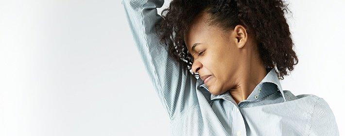 Как избавиться от запаха пота