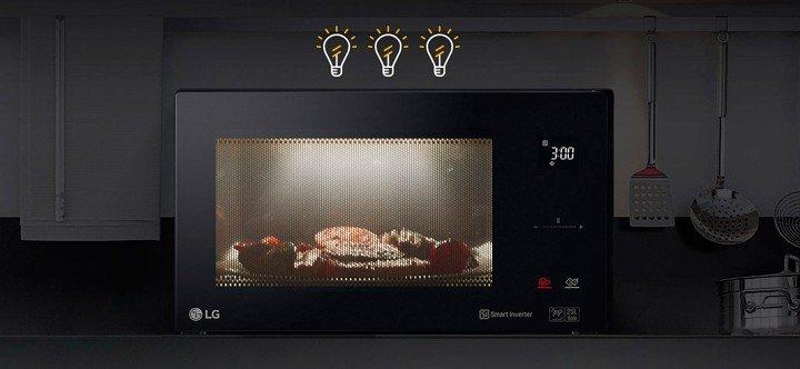 LG MS2595FISW обзор