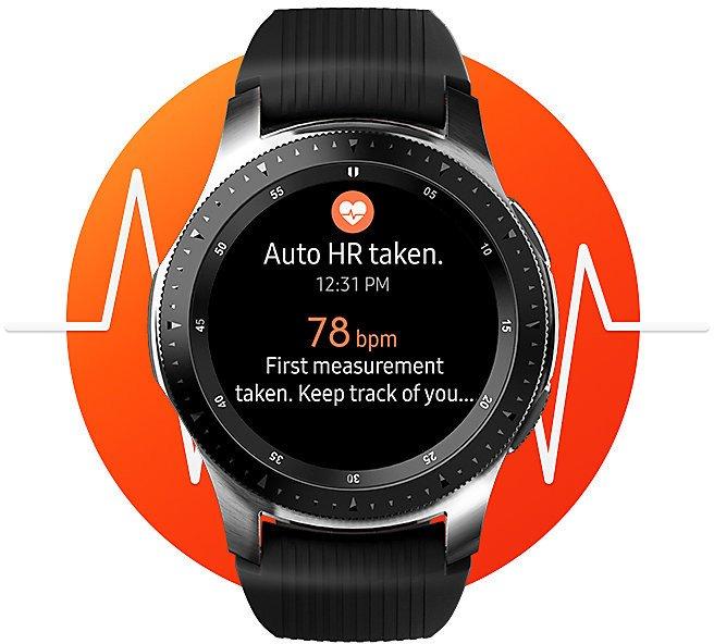 Galaxy Watch SM-R810 42мм Gold фотографии