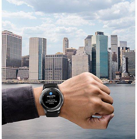 обзор Galaxy Watch SM-R810 42мм Gold