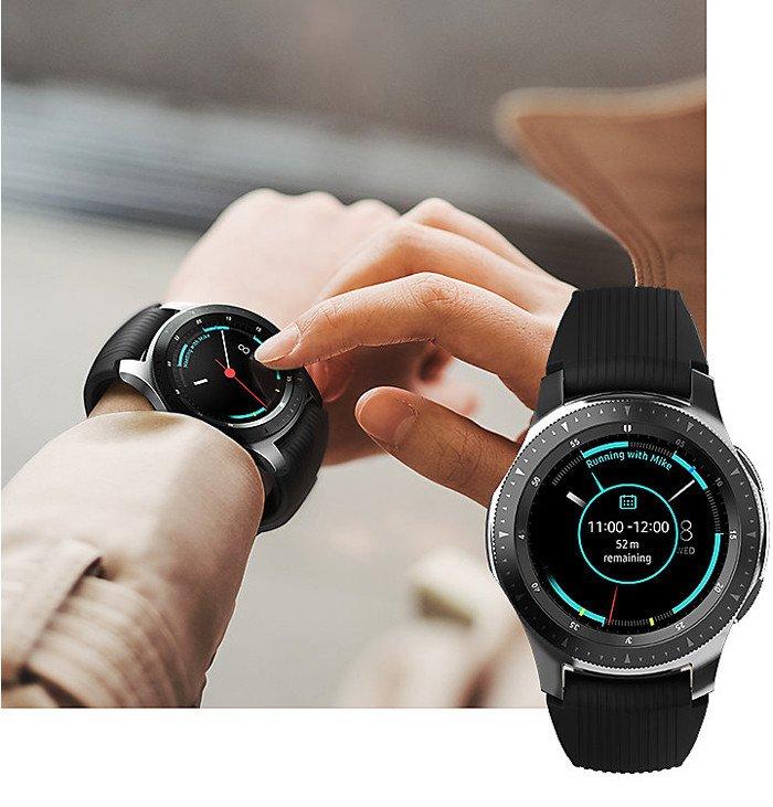 Фитнес-часы Samsung Galaxy Watch SM-R810 42мм Gold обзор