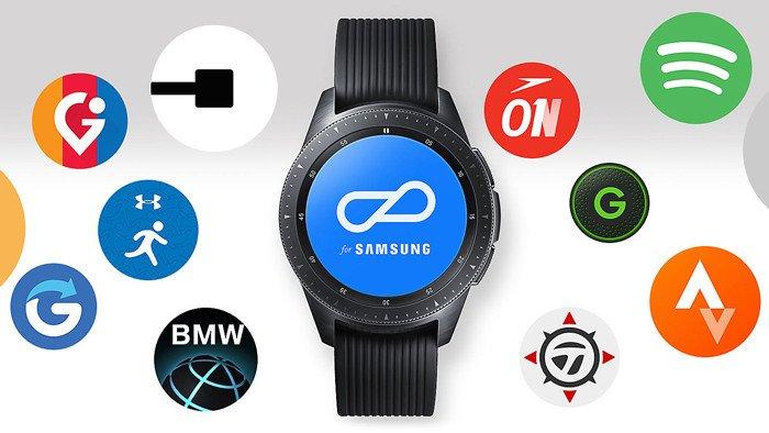 обзор Фитнес-часы Samsung Galaxy Watch SM-R810 42мм Gold