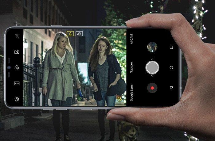 Смартфон LG G710 G7 ThinQ Black фото