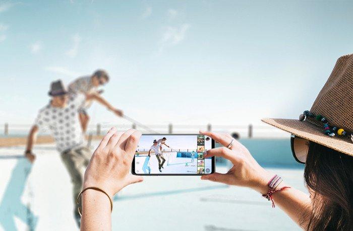 Смартфон LG V300L V30 64GB Silver фото