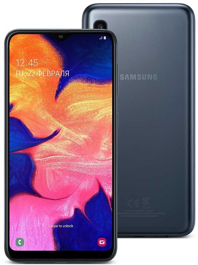 фото Galaxy A10 2019 A105F/DS 2/32GB Blue
