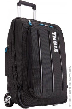 3fbad111720a Код: 23721-785420 Thule Crossover Rolling Carry-On 38L, Black (TCRU115) ...