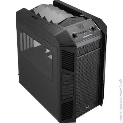Aerocool PGS-B XPredator Cube Black, no/PSU