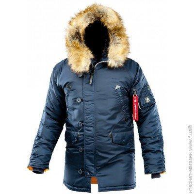 AIRBOSS Winter Parka, Куртка Airboss Winter Parka 4XL, Blue (171000123221)  цена c51f5437233