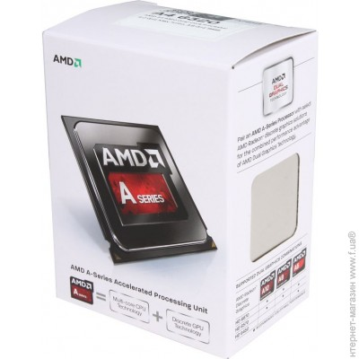 AMD A4-6320 FM2, 3.8GHz, 65W Box (AD6320OKHLBOX)