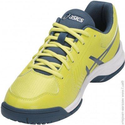 ecde98e3 ᐈ ASICS Gel-Dedicate 5 10 US, yellow/navy (E707Y-8945) ~ Купить? ЦЕНА  Снижена ~ F.ua
