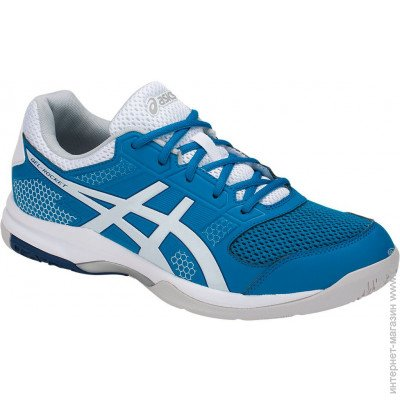 85c8267f409a ASICS Gel-Rocket, Кроссовки ASICS Gel-Rocket 8 9 US, blue white (B706Y-401