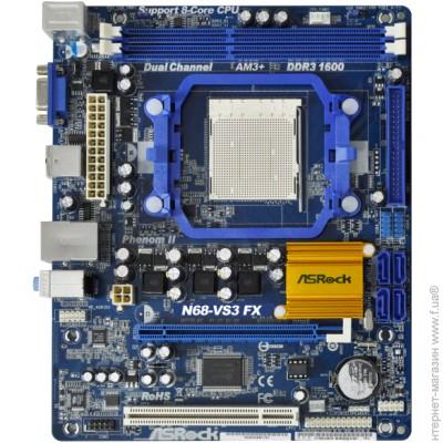 Asrock N68-VGS3 FX XFast USB Mac