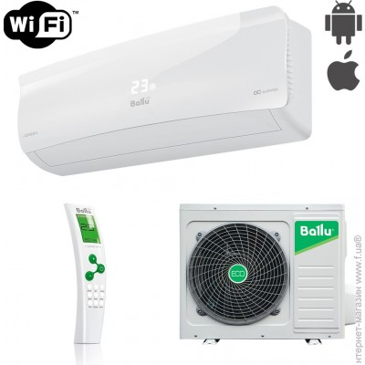 Ballu iGreen Inverter BSAI-18H N1
