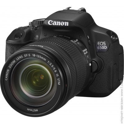 Canon EOS 650D 18-135mm IS STM Kit