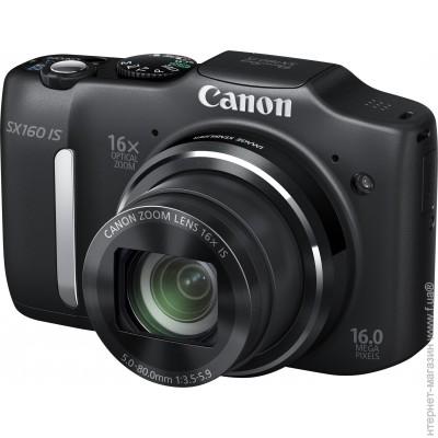 Canon PowerShot SX160 IS Black