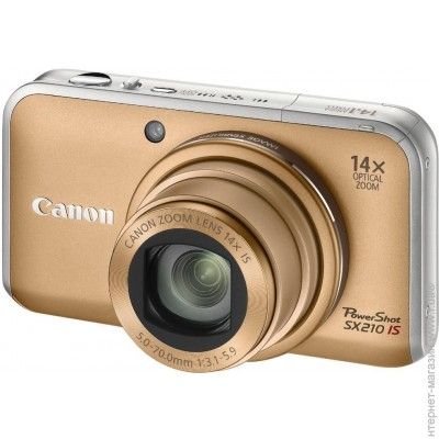 Canon PowerShot SX210 IS Gold
