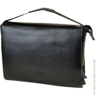 41d52b14d6d4 ... Dr. Bond Мужская черная сумка из кожзаменителя Dr.Bond 5139-4 black цена