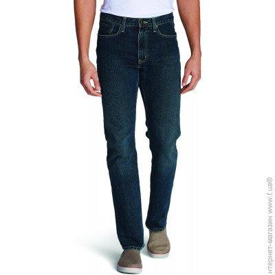 4a249871701 ... Джинсы Eddie Bauer Men Straight Fit Authentic DK HERITAGE 33-34  Темно-синие (