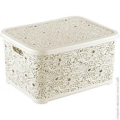 ᐈ ЯЩИКИ и коробки   корзины для хранения вещей — цена в интернет ... e7bed3cfc47
