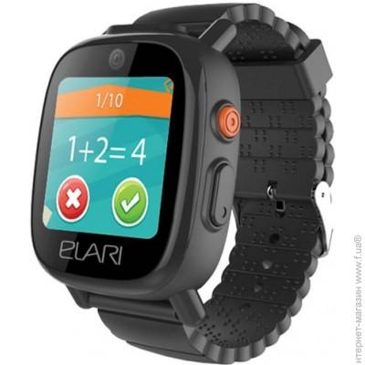 Детские смарт-часы ELARI Fixi Time 3, Elari FixiTime 3 Black (ELFIT3BLK)  цена 0e9da37c1de