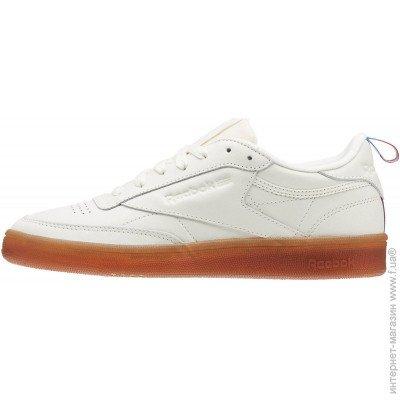 210664e6 ... Кроссовки Reebok Classic Club C85, 40.5EU, white (4060513489637) цена