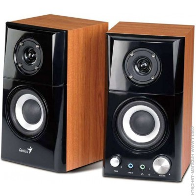Genius 2.0 SP-HF500A brown wood