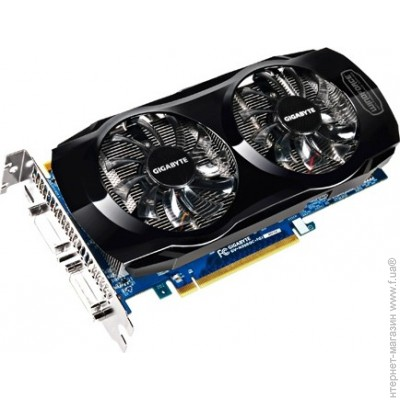 Gigabyte PCI-E GeForce GTX560Ti 1024Mb, 256bit, DDR5 (GV-N560UD-1GI)