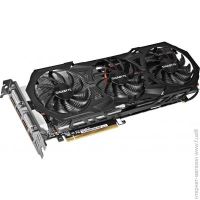 Gigabyte PCI-E GeForce GTX980 4096Mb, 256bit, DDR5 (GV-N980WF3OC-4GD Rev. 1.0)