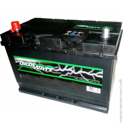 Автомобильный аккумулятор Gigawatt G55R - фото 4