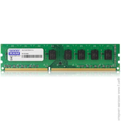Goodram DDR3 4GB, 1600MHz, PC3-12800 (GR1600D364L11S/4G)