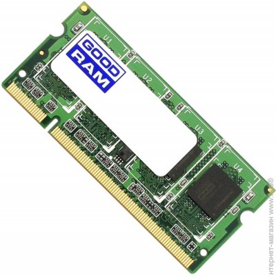 Goodram SODIMM DDR2 2GB, 800MHz, PC2-6400 (GR800S264L6/2G)
