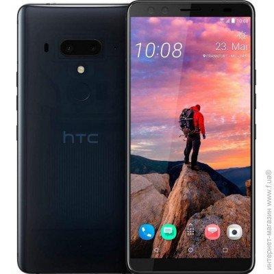 d257095cd2009 Смартфон HTC U12 Plus 6/128GB Translucent, HTC U12 Plus 6/128GB Translucent  Blue цена