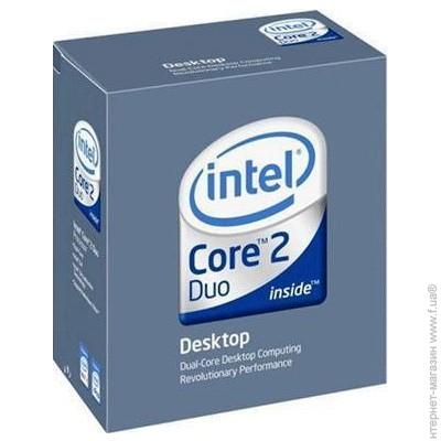 Intel® Core™2 Duo Processor E8500 (6M Cache, 3.16 GHz ...