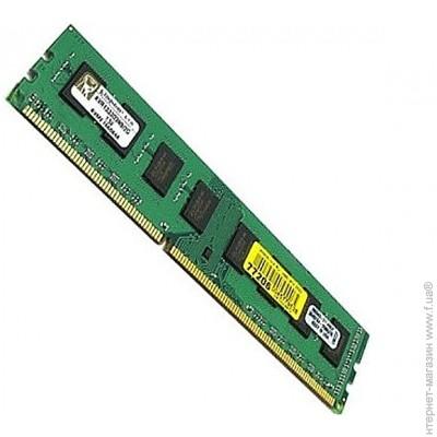 Kingston DDR3 2Gb, 1333MHz, PC3-10600 (KVR1333D3N9/2G)