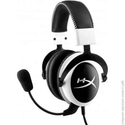 Kingston HyperX Cloud Gaming Headset White (KHX-H3CLW)