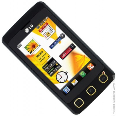 ������� LG KP500 Black Gold