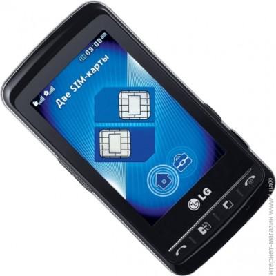 ������� LG KS660 Blue Black