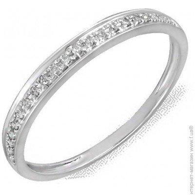 ᐈ SOUL DIAMONDS Кольцо из белого золота с бриллиантами da838d4a624a5