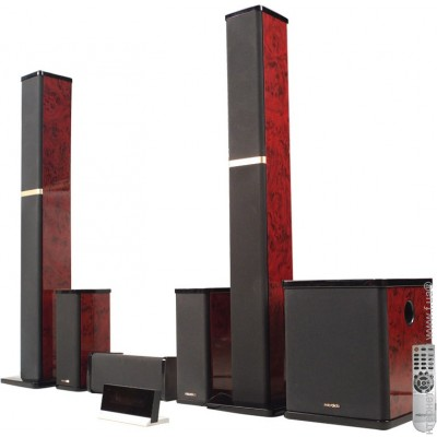 Microlab 5.1 H-600 Red Wood