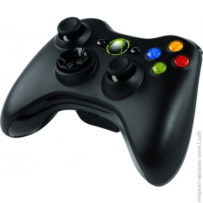 ������� Microsoft Xbox 360 WL Controller for Windows USB Black (JR9-00010)