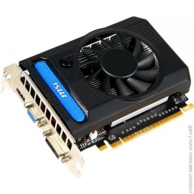 MSI PCI-E GeForce GTX650Ti 2048Mb, 128bit, DDR5 (N650Ti-2GD5/OC)