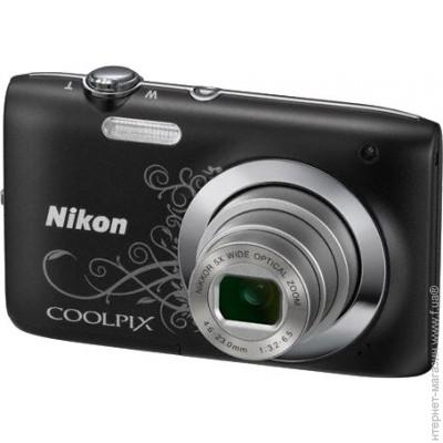 Nikon Coolpix S2600 Black Lineart