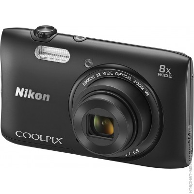 Nikon Coolpix S3600 Black