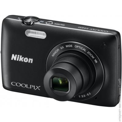 Nikon Coolpix S4400 Black + �����