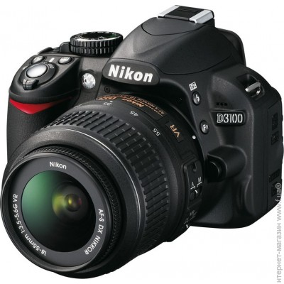 Nikon D3100 Kit 18-55mm VR Black