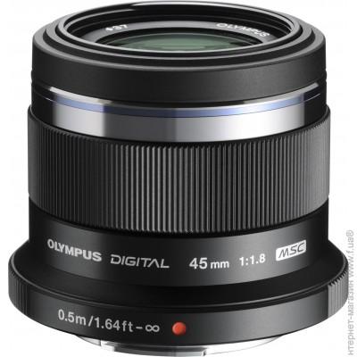 Olympus ET-M4518 45mm f/1.8 Black (V311030BE000)